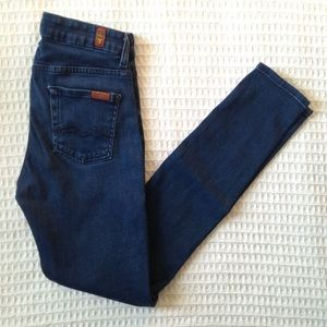 7 For All Mankind high waist skinny size 26